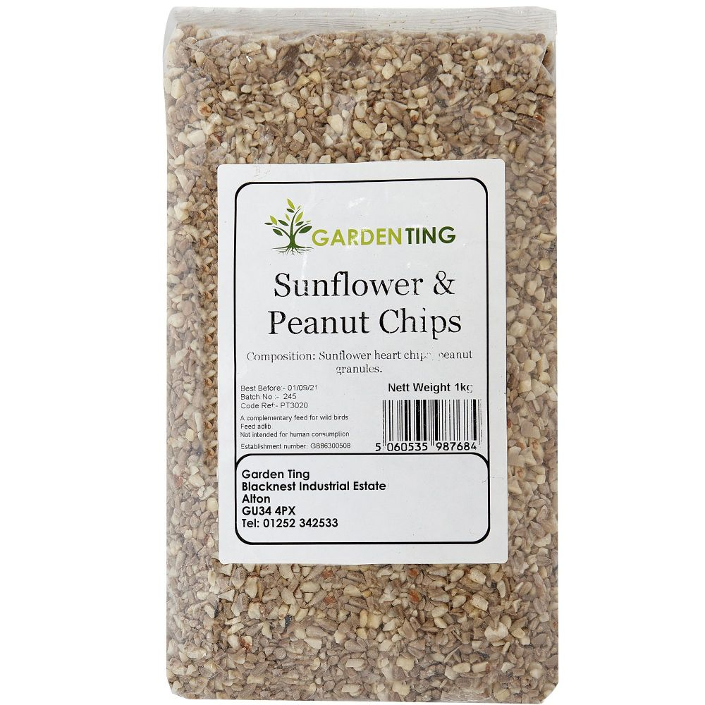 Garden Ting Sunflower & Peanut Chips